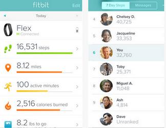 fitbit app for iphone ipad