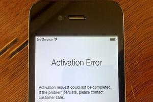 fix activation error iphone