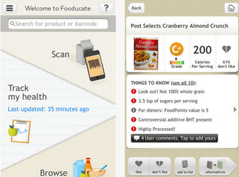 fooducate app for iphone ipad