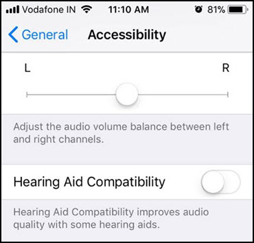 hearing aid compatibility iphone x