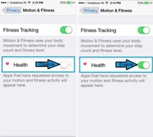 how to fix Health app not counting steps on iPhone 6 6 Plus 5S