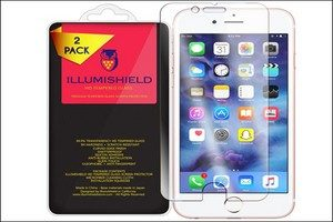 iLLumiShield iPhone 7 Plus Tempered Glass Screen Protector