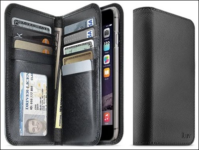 iLuv wallet case for iPhone 6 plus