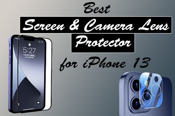 Screen Protector & Camera Lens Protector for iPhone 13