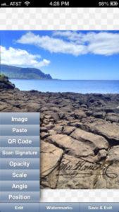 iWatermark iPhone App