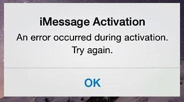 iMessage waiting for activation iPhone
