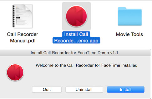 install call recorder for FaceTime