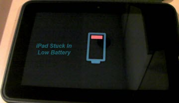 ipad low battery