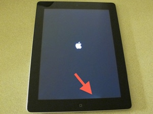 iPad screen problem