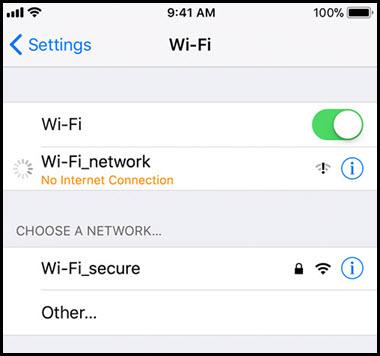 iphone x wifi slow