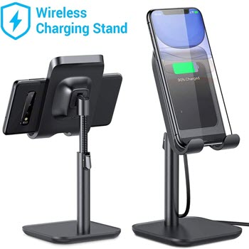 Lisen wireless charger with stand iPhone 12 series