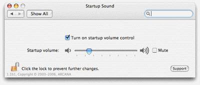 Mac OS X startup sound