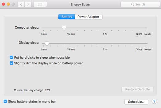 macbook pro dimming