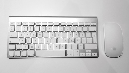 Magic Mouse and Apple Bluetooth keyboard