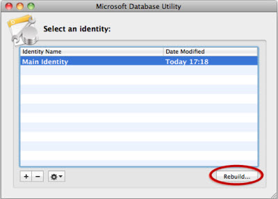 microsoft database utility