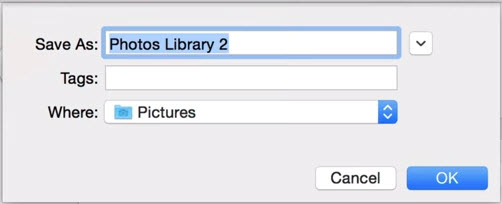 name for new library mac