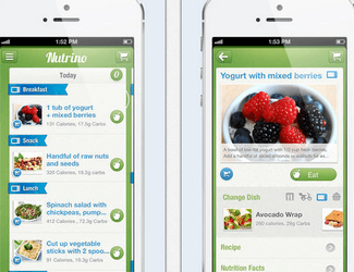 nutrino app for iphone ipad