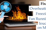 overheating and freeze and fan sound louder on mac