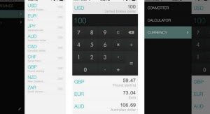 rates currency converter iPhone app