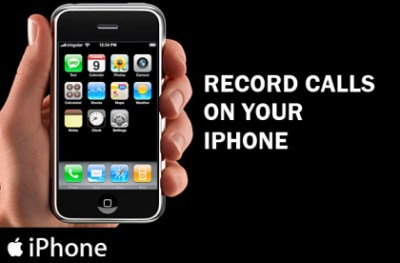 record calls iPhone