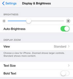 reduce brightness level