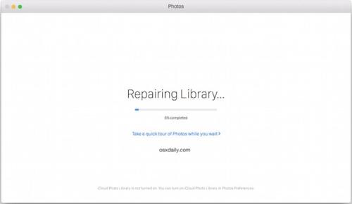 repair library process
