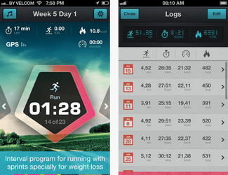 running for weightloss app for iphone ipad