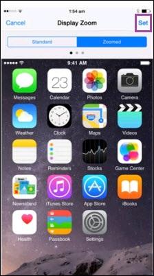 set iphone x
