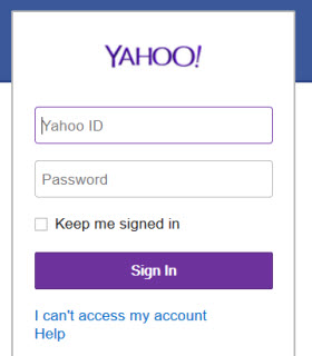 sign out yahoo