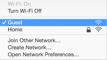 turn off wifi other devices