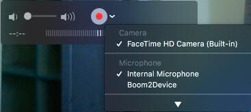 video camera mic