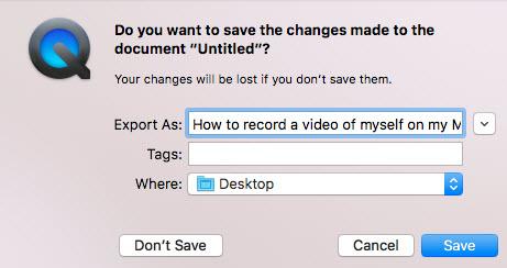 video save