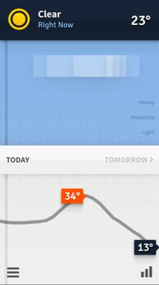 weathertron iphone app
