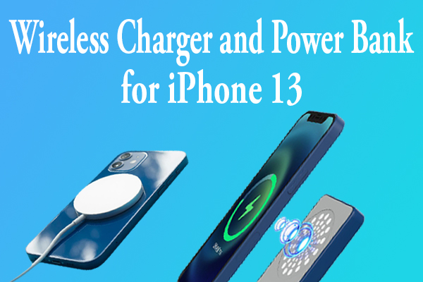 Wireless Charger and Power Bank for iPhone 13