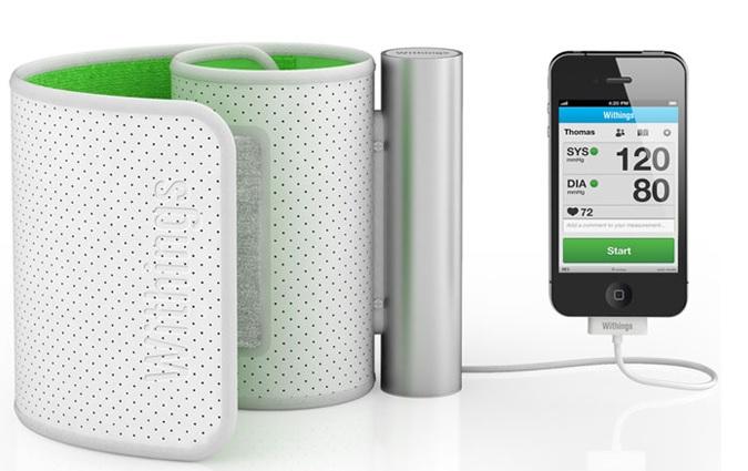 withings iPhone blood pressure